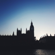 The iconic Houses of Parliament